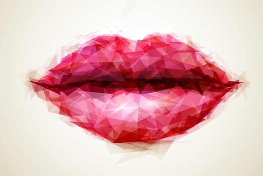 Importance des lèvres dans un visage